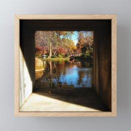 Bridges Helping Bridges Framed Mini Art Print