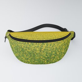 Mustard Field (of Yellow and Green) Fanny Pack