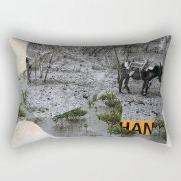 Han Undetermined Rectangular Pillow