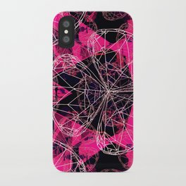 Diamonds Pink iPhone Case