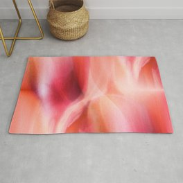 Colorgradient pink and orange Rug