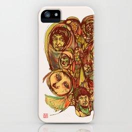Somebody's Family Portrait iPhone Case