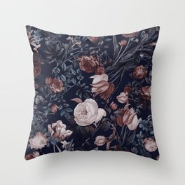 Night Forest XXV Throw Pillow