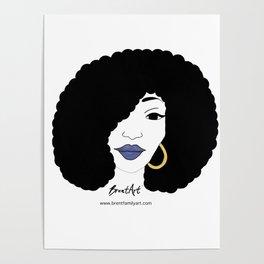 Black Girl Magic Poster