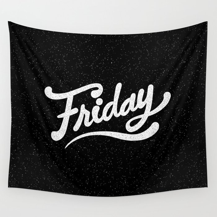 Friday Wall Tapestry