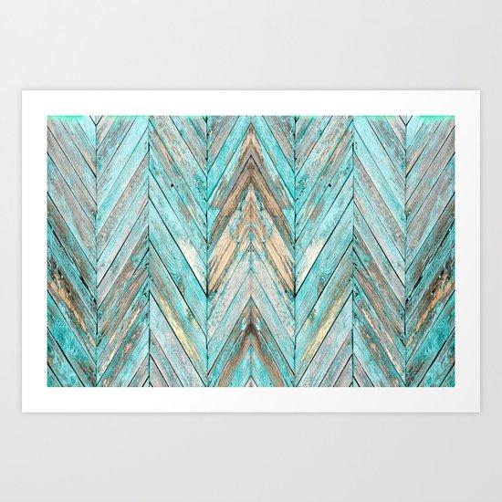Wood Texture 1 Art Print