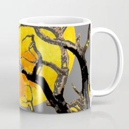 FULL MOON & RAVEN ON DEAD TREE Coffee Mug