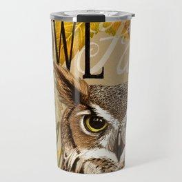 The Great Horned Owl Travel Mug
