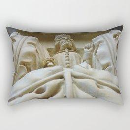 Royal Relief Rectangular Pillow