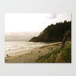 Indian Beach Canvas Print