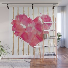 Je t'aime Wall Mural