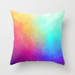 Galaxy Sky Throw Pillow