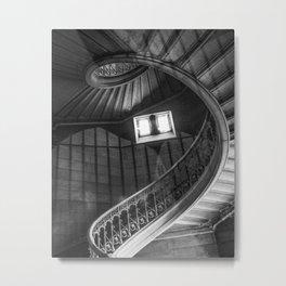 Lyon Spiral Metal Print