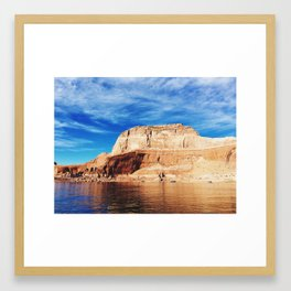 Lake Powell Pt. 2 Framed Art Print