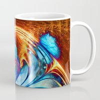 smoking Mugs featuring Smoking space. by haroulita
