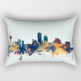 Knoxville Tennessee Skyline Rectangular Pillow