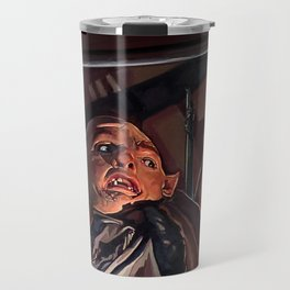 Sloth And Chunk In The Cavern - The Goonies Travel Mug