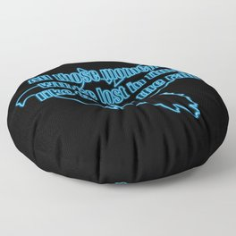 All those moments... Floor Pillow