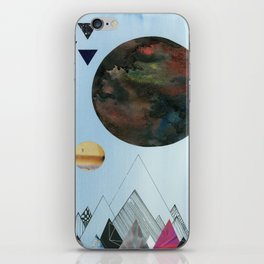 Moons and Mountains iPhone Skin