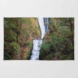 Bridal Veil Falls - Columbia River Gorge, Oregon Rug