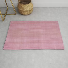 Soft Pink Dry Brush Paint Strokes, Texture Art Rug