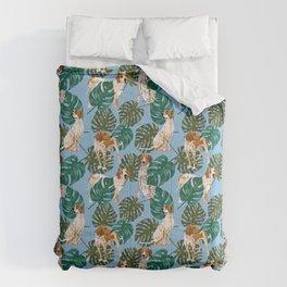 Tropical Redtick Coonhounds Comforters