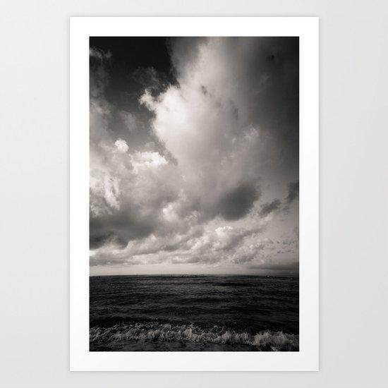 summer ver.black Art Print