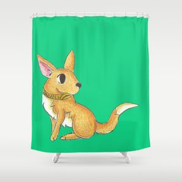 Toltec Treasure Shower Curtain