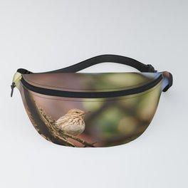 Tree pipit bird Fanny Pack