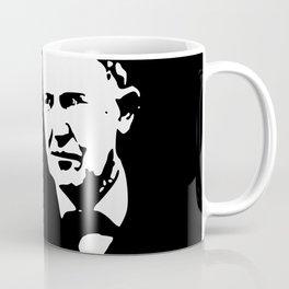 Thomas Edison Minimalistic Pop Art Coffee Mug