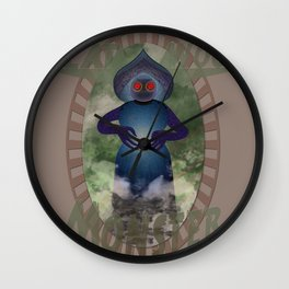 The Flatwoods Monster 1952 Wall Clock