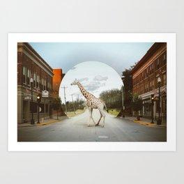 Wondering Art Print