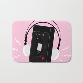 I hear synthwave music Bath Mat