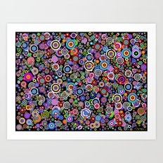 Spots (Version 7) by Bruce Gray Art Print