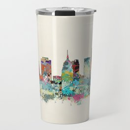 Oklahoma City Oklahoma skyline Travel Mug