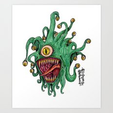 Beauty is within the eye of the Beholder Art Print