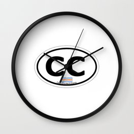 Cape Charles - Virginia. Wall Clock