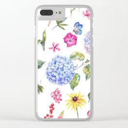 Spring Life Clear iPhone Case
