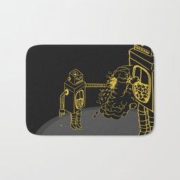 Mr Roboto Bath Mat