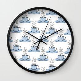 Plants World pt. 1 Wall Clock