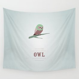 My little Owl Wall Tapestry