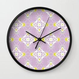 paisley pattern 1 Wall Clock