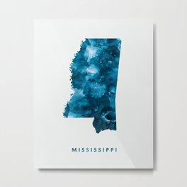 Mississippi Metal Print