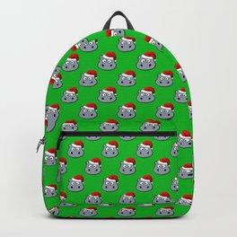 Santa Hippo Backpack