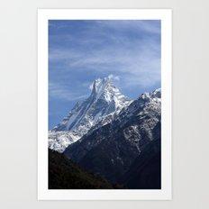 Majestic Peak Art Print