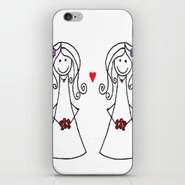 Two Brides iPhone Skin