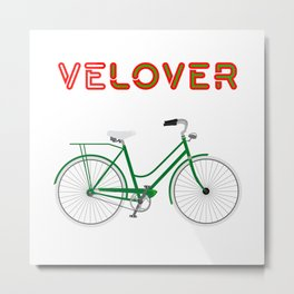 VeLover – Shopping – June 12th – 200th Birthday of the Bicycle Metal Print