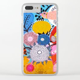 Corazon Magico Clear iPhone Case