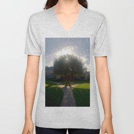 Glorious Olive Tree Unisex V-Neck