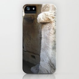 Colour Travel Photograph Rock and a hard place #2 iPhone Case